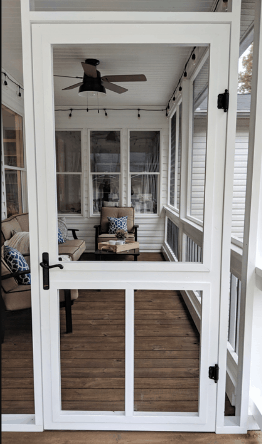 DIY Screen Door Project