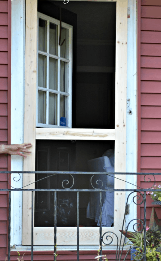 DIY Screen Door Tutorial