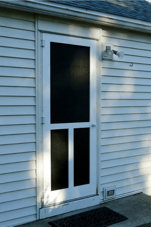DIY Wood Screen Door