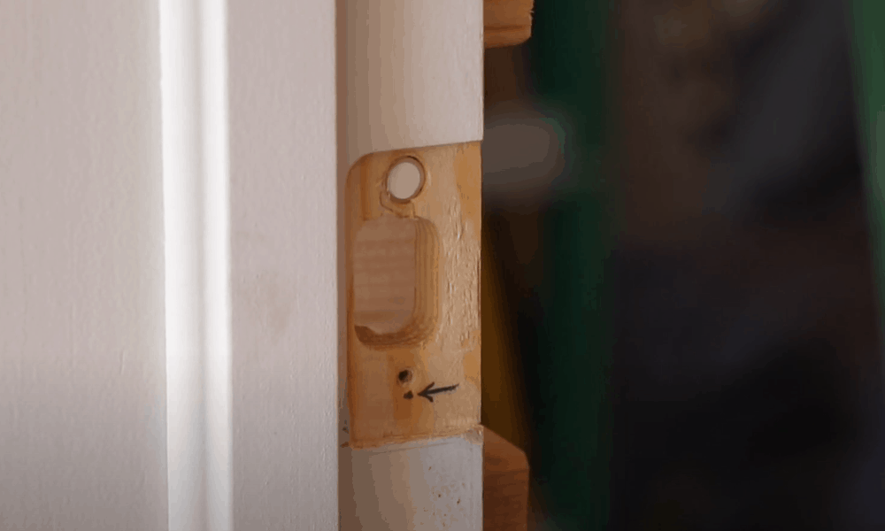 Fill in the old screw holes