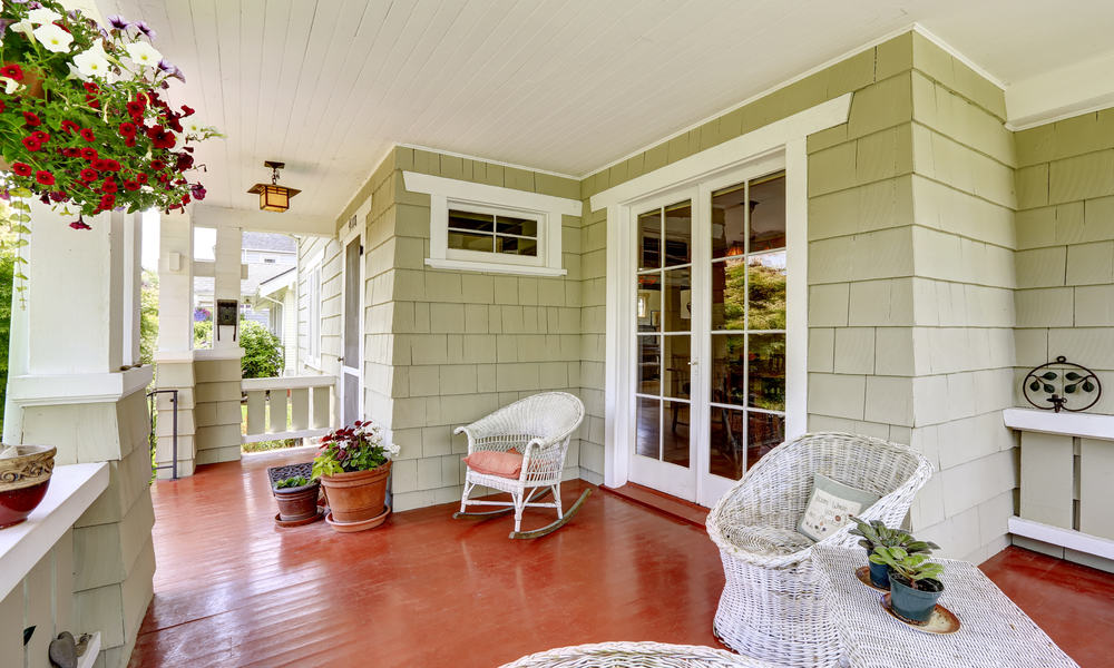 Front French Doors