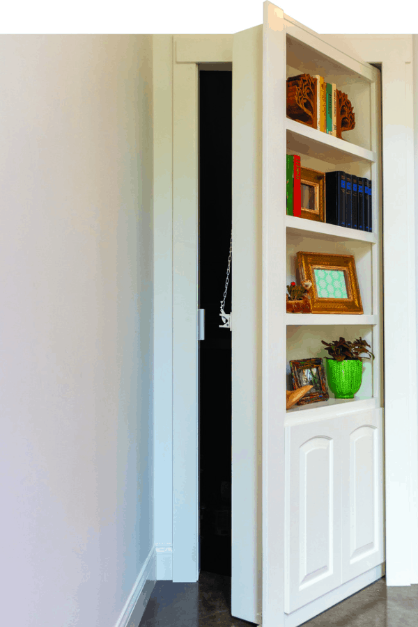 Hidden Door Bookcase