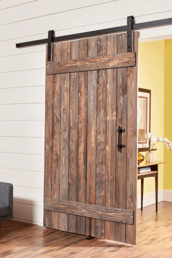 How to Make a DIY Rustic Barn Door