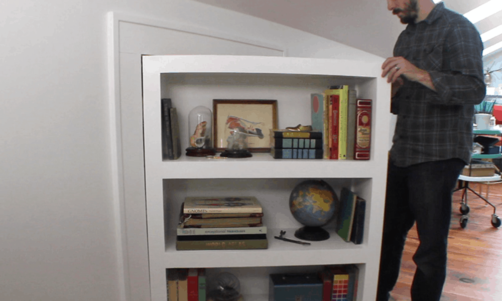 How to Make a Secret DoorBookcase