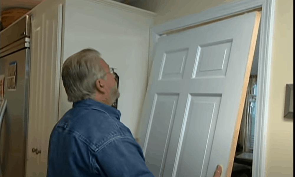 Install the door