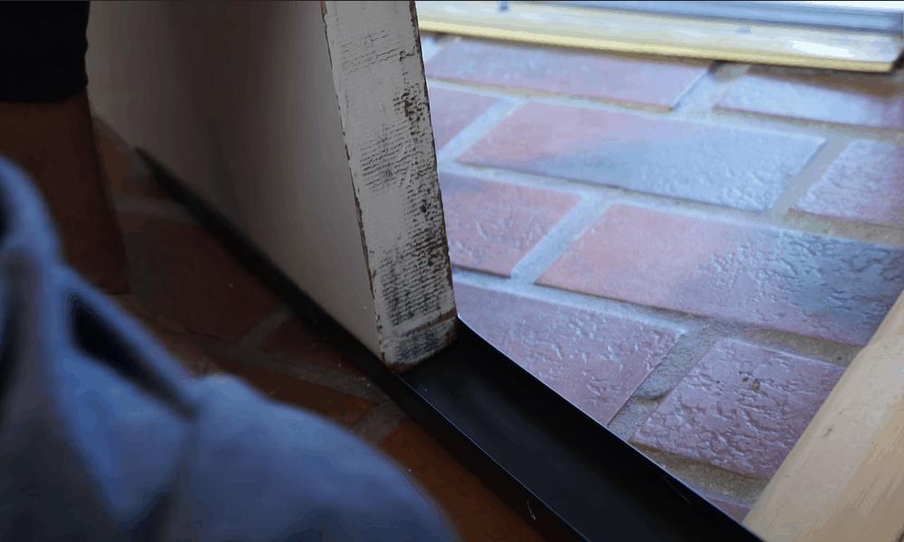 Interior door insulationInterior door insulation