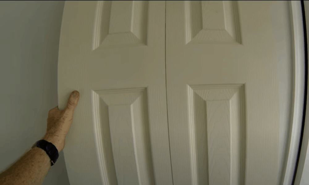 Paint the new doors