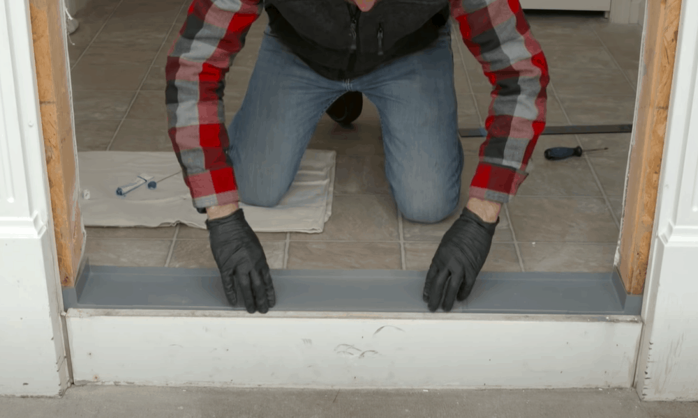 Protect the rough opening from water damage