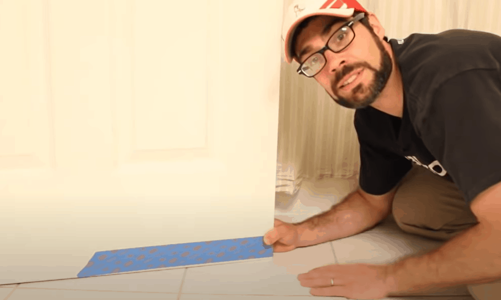 Rehang the door to check for fit
