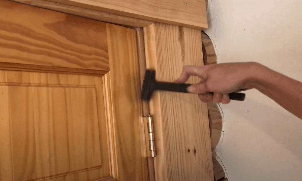 Reinstall the door