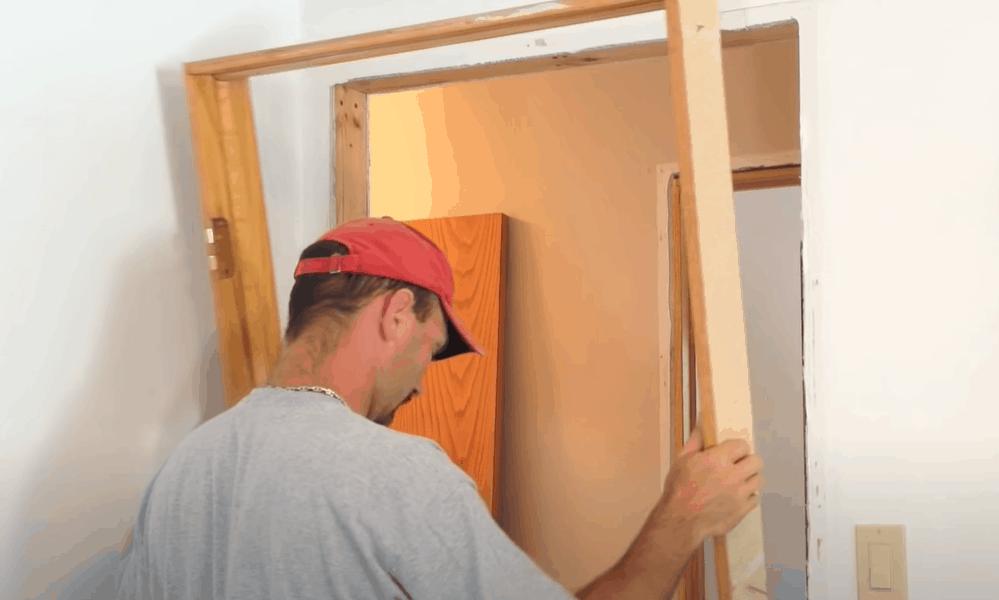 Remove the door frame