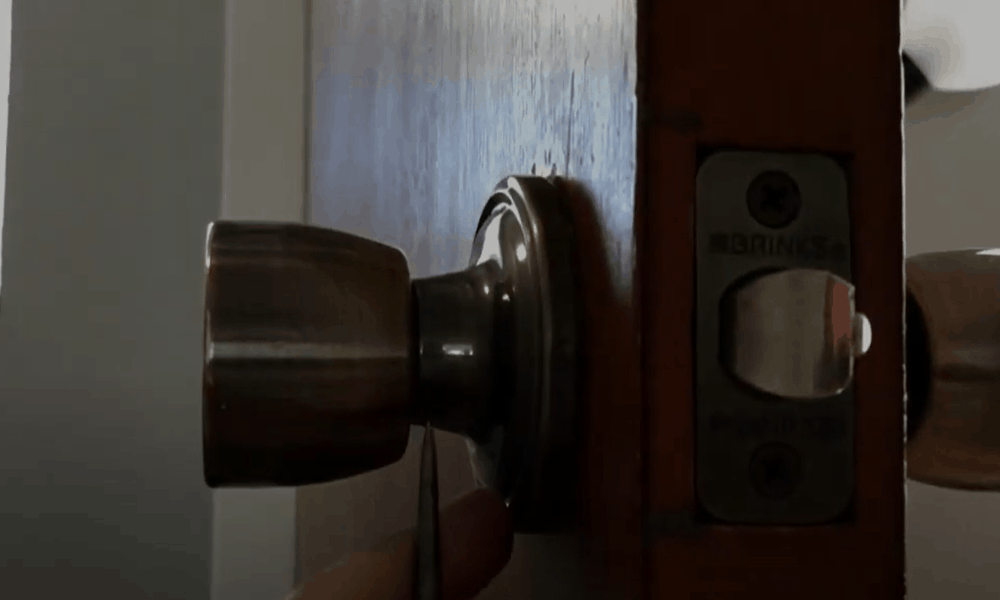 Remove the lock face