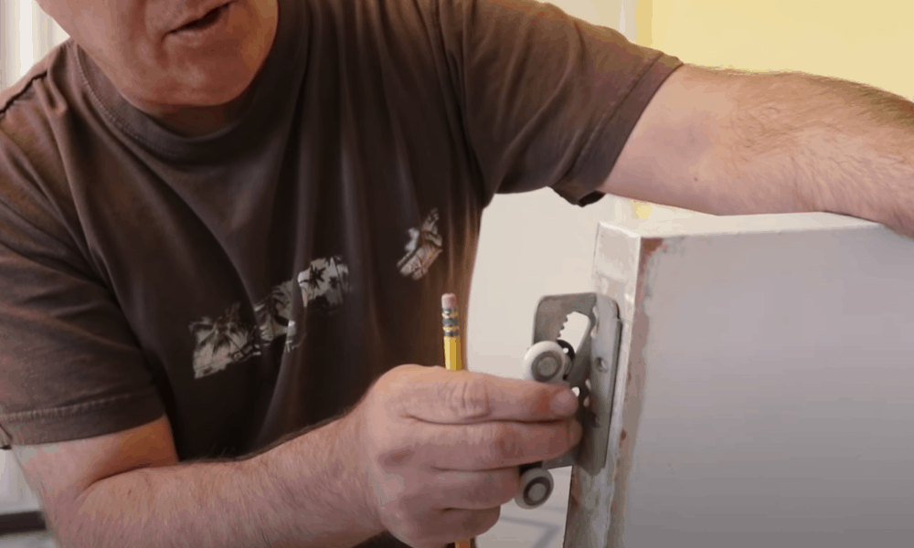 Replace damaged rollers