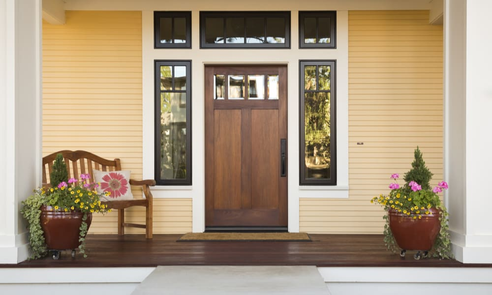 Single Entrance Door Size