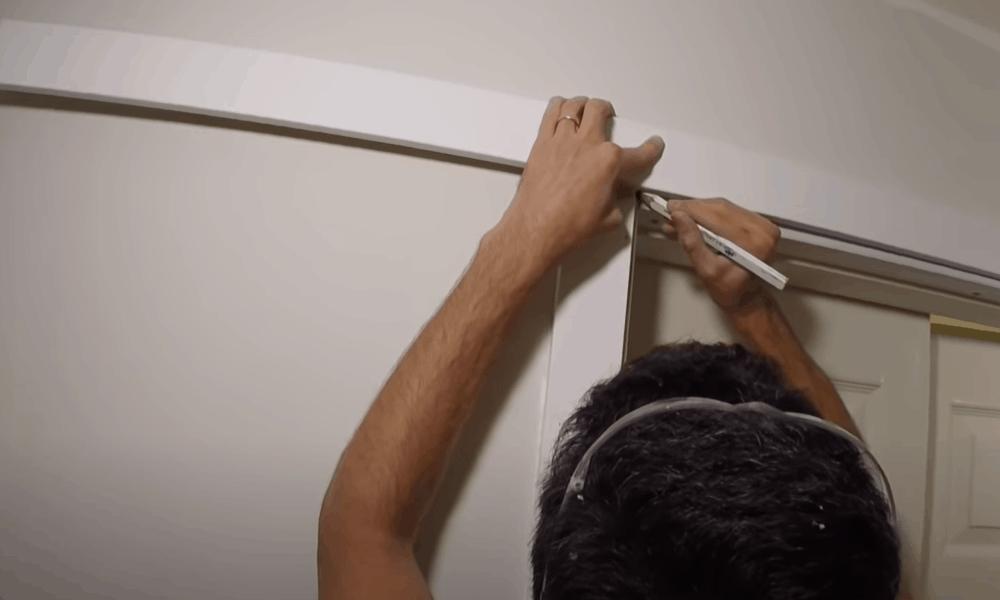 Slice Off The Top Door Casing