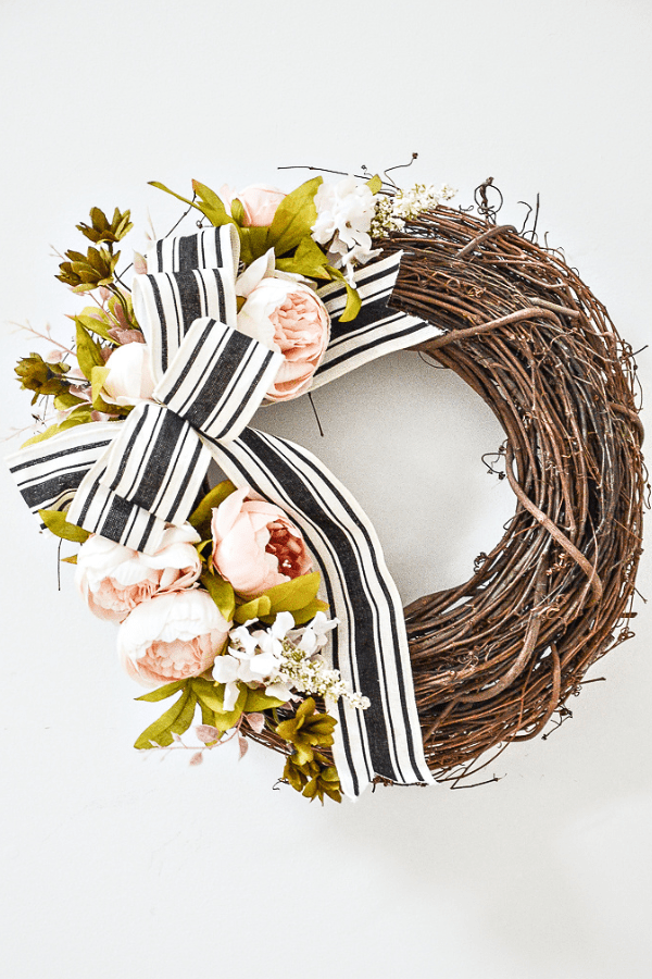 Summer Front Door Wreath DIY