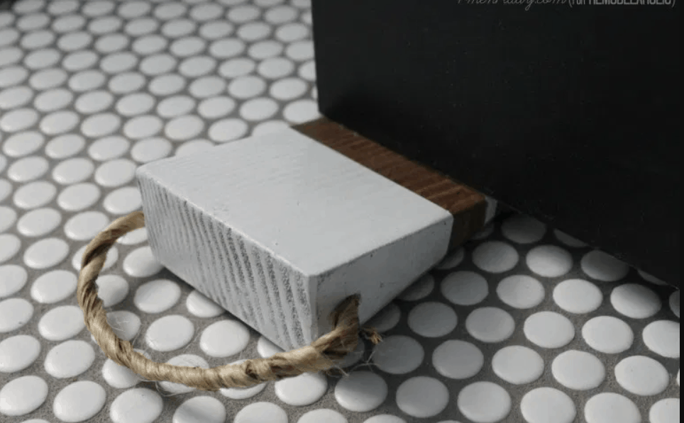 Super-Easy DIY Doorstop