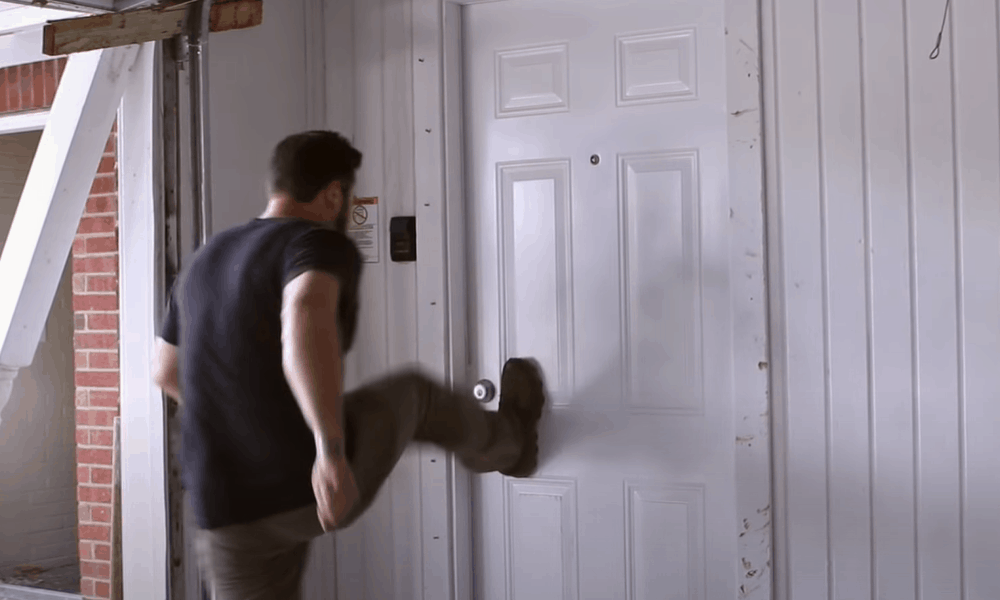 5 Easy Steps to Kick Down a Door