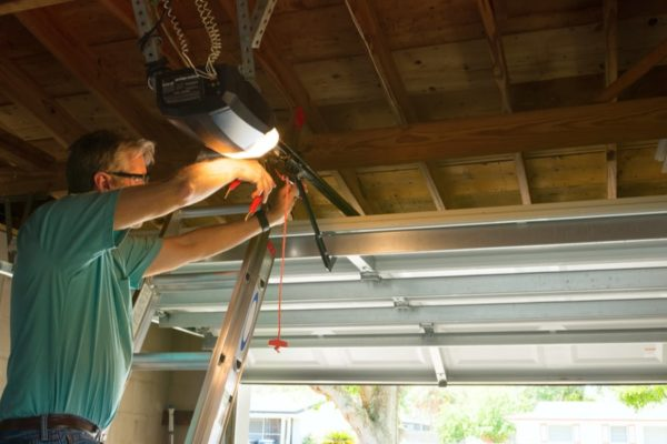 8 Steps to Install a Garage Door Opener