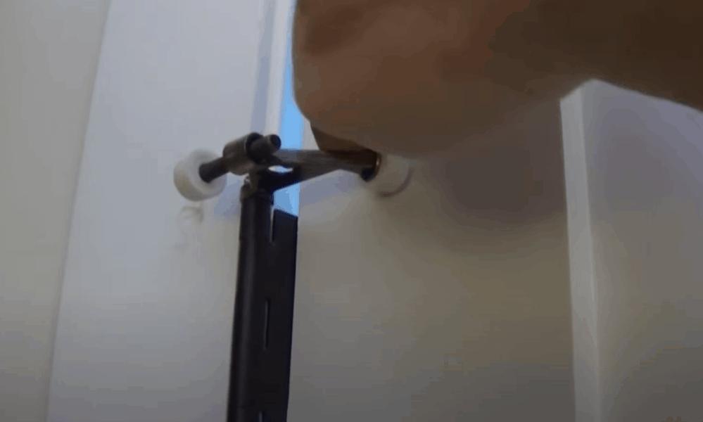 Adjust the Doorstop to Desired Opening Distance