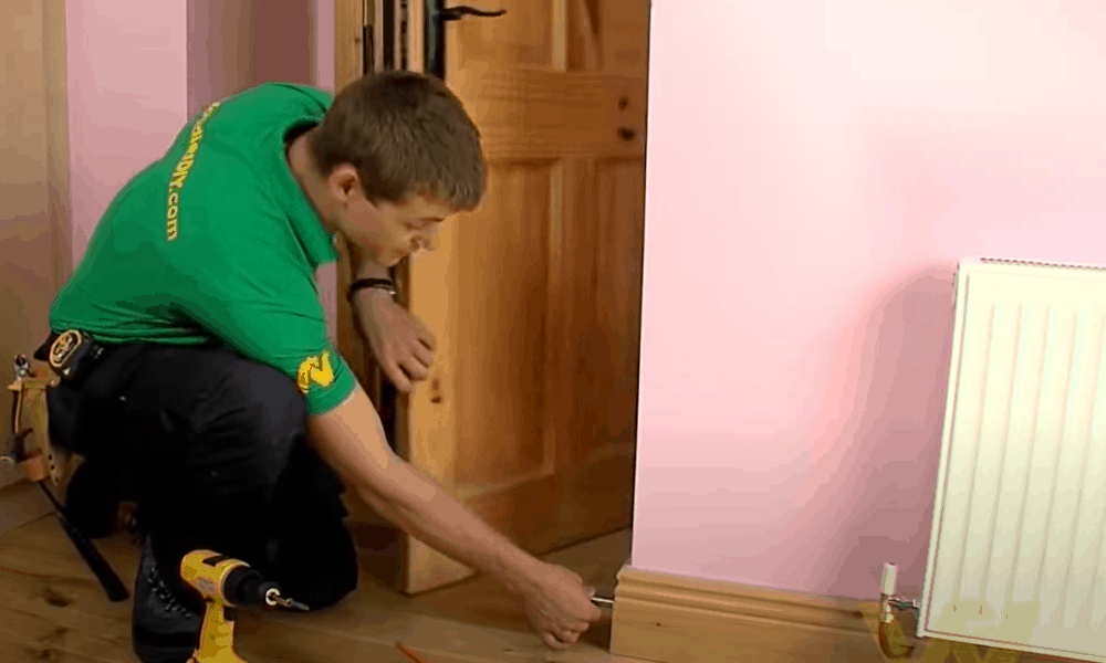 Choose a Spot for Fixing Your Doorstop