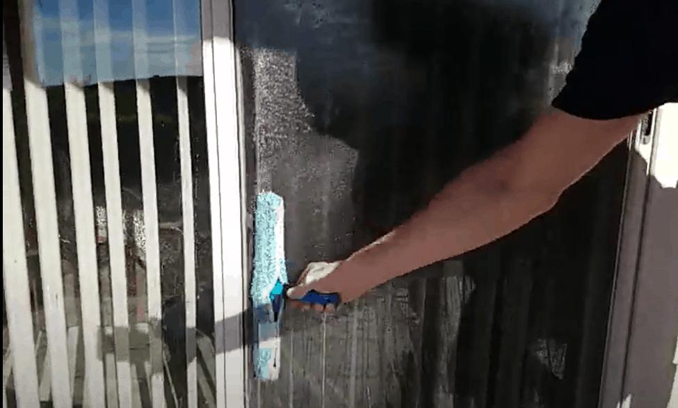 Clean your storm door regularly
