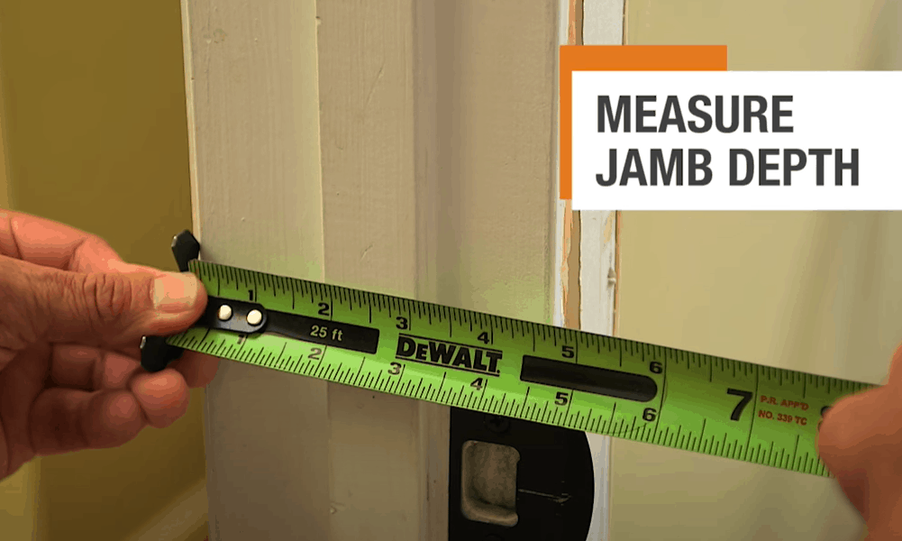 Consider the Width of the Jambs