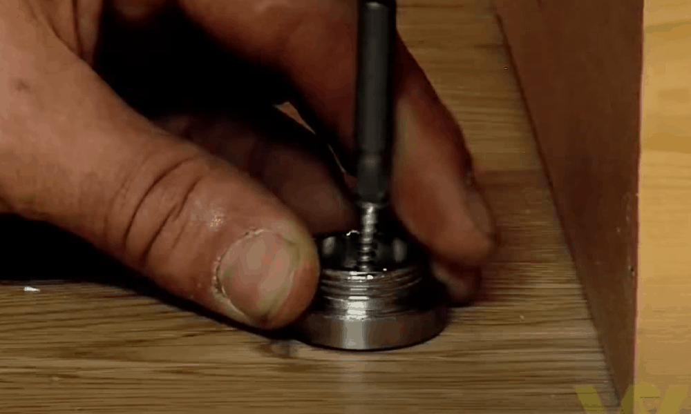 Drill a Hole in the Flooring