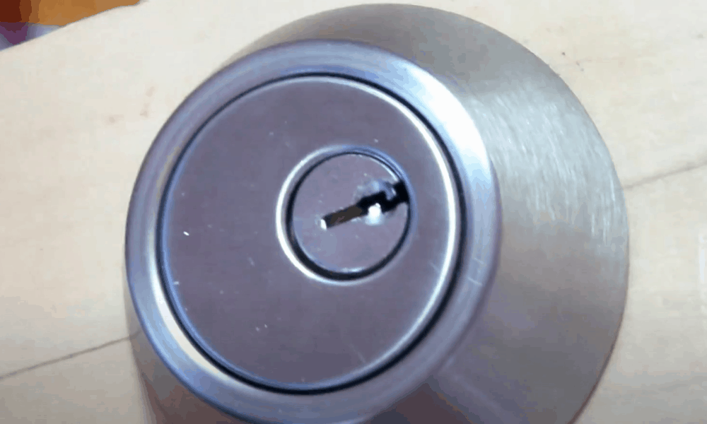 Familiarize yourself with the inside workings of a lock