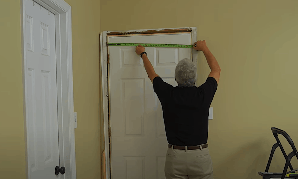 Get the Height, Width and Wall Depth of the Door Opening