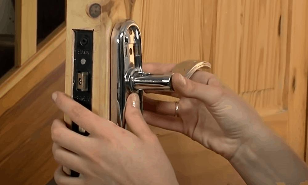 Insert the latch