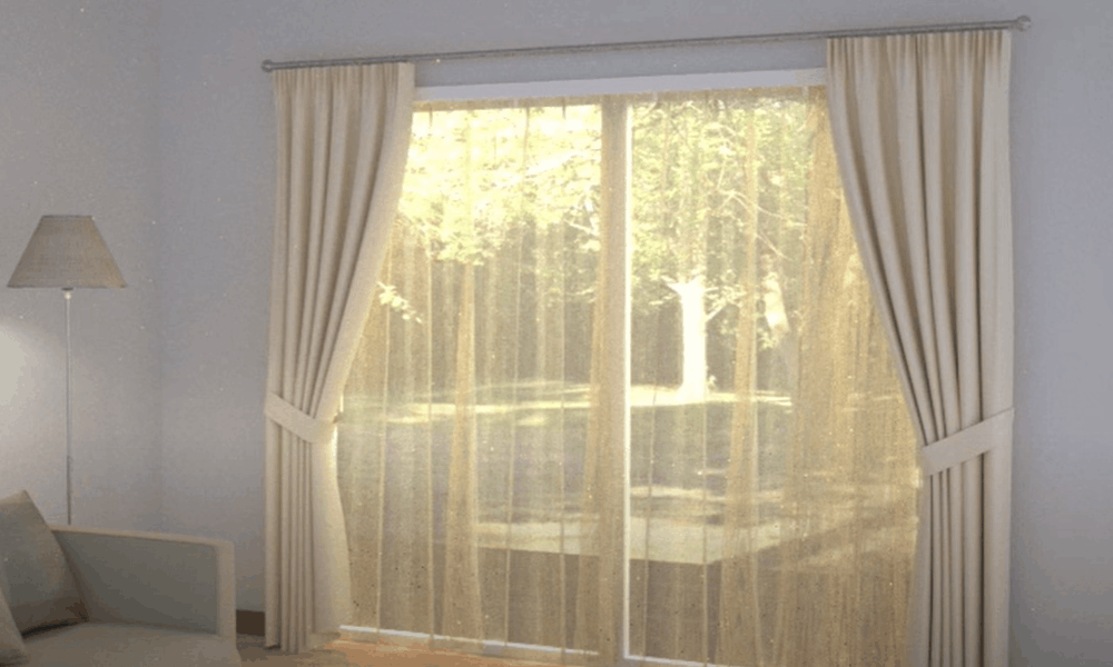 Install Window Treatments and Insulated Drapes