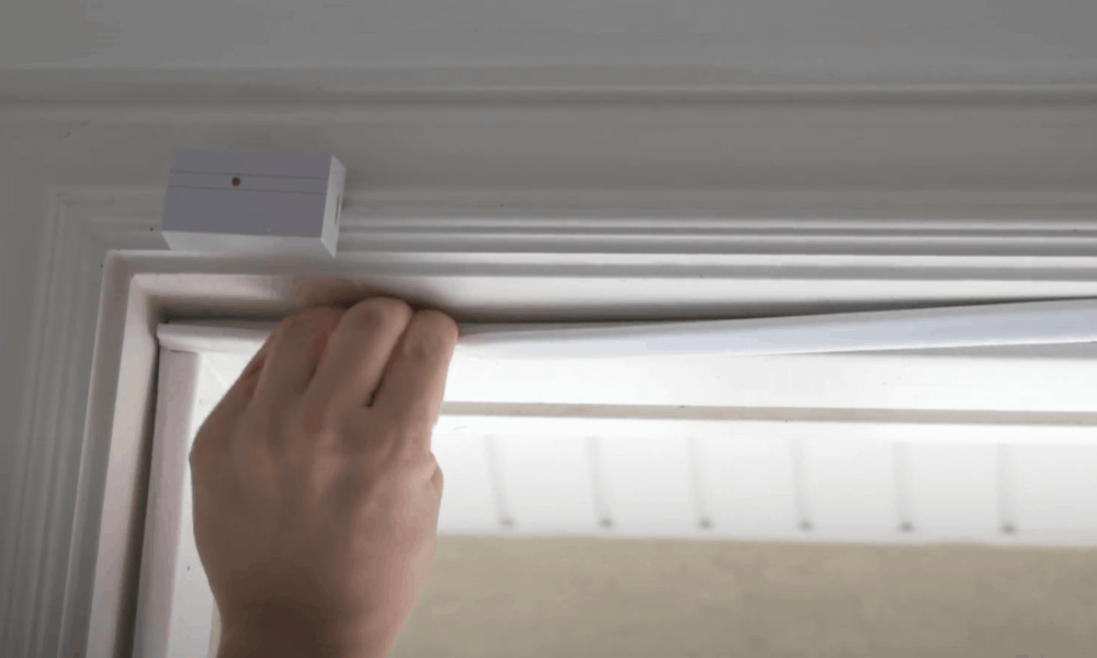 Measure and Cut the Door Weather Stripping