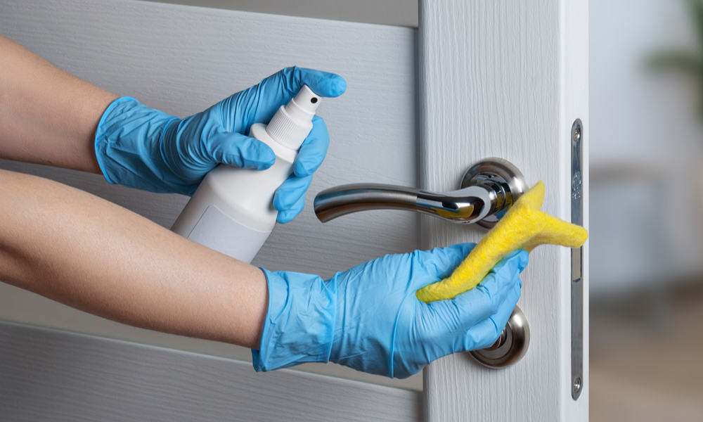 Regular Cleaning with Soap and Water