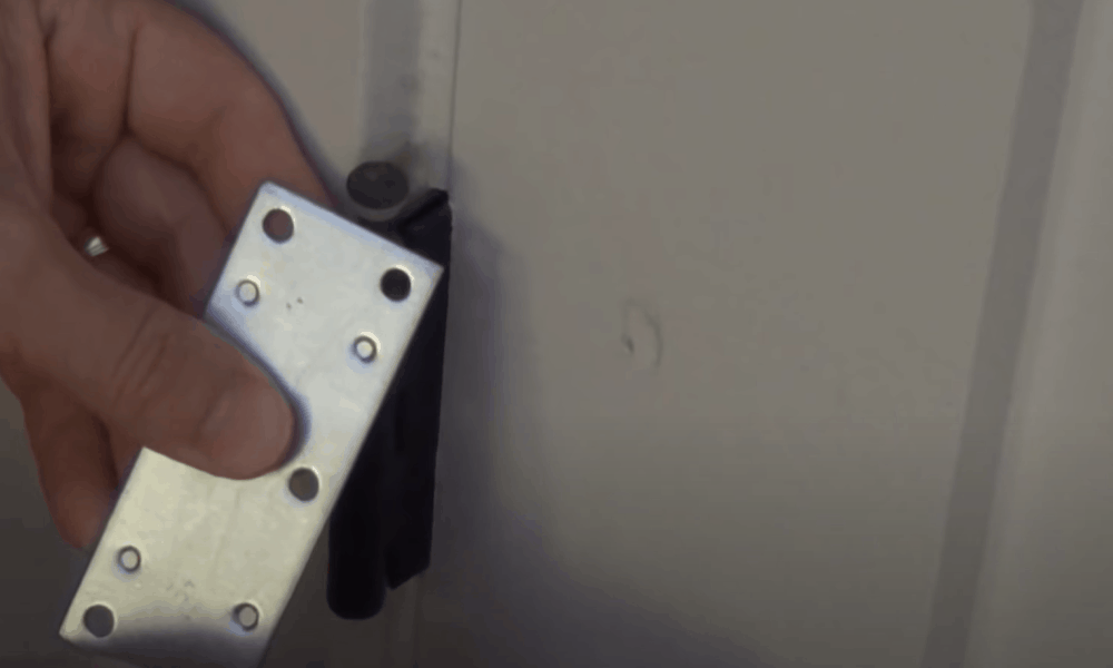Remove the Hinge Pin on The Door