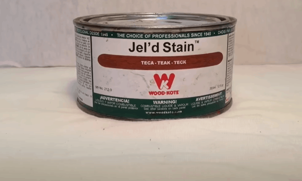Select the stain