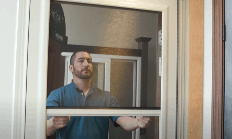 Self Storing Storm Door Everything You Need to Know