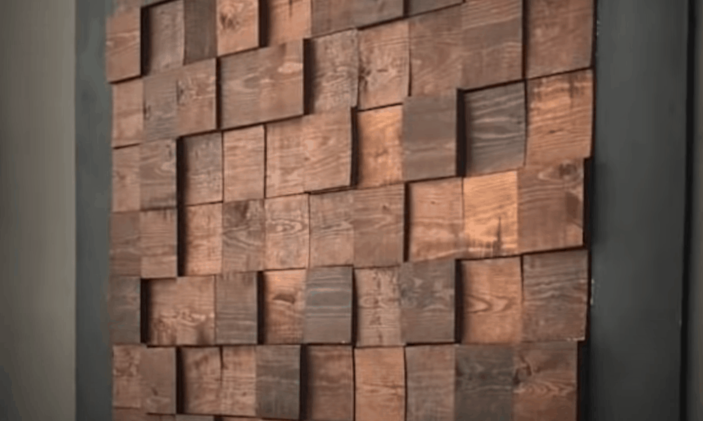 Woodsy wall
