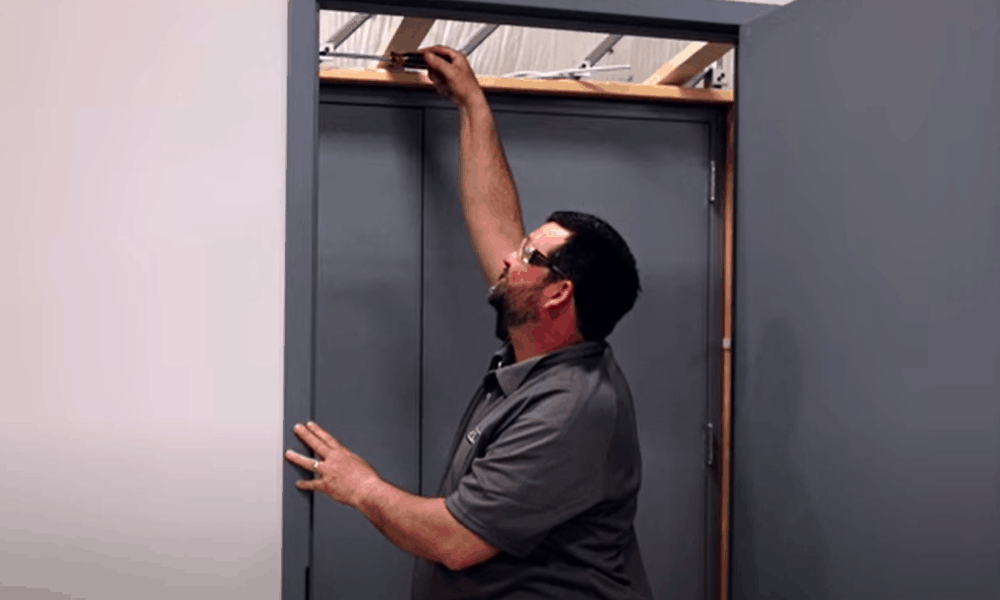Adjust the Warped Door