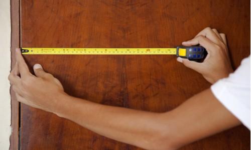 Ge the Measurement of the Door