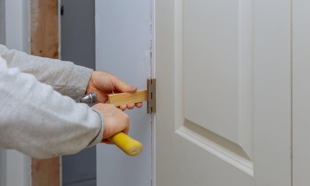 How to Fix a Warped Door