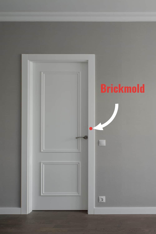 brickmould door