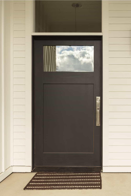 no brickmould door