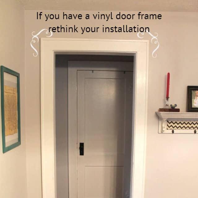 Poor Frame Material